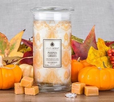Great Halloween Giveaway- Win a Pumpkin Caramel candle!