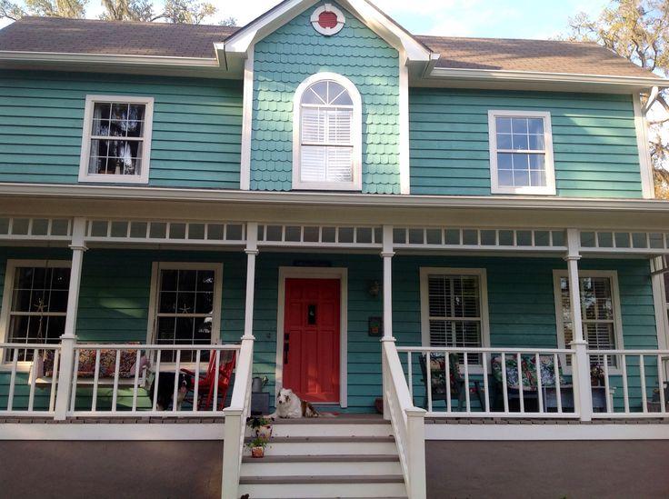 17 best ideas about Coral Front Doors on Pinterest | Coral door ...