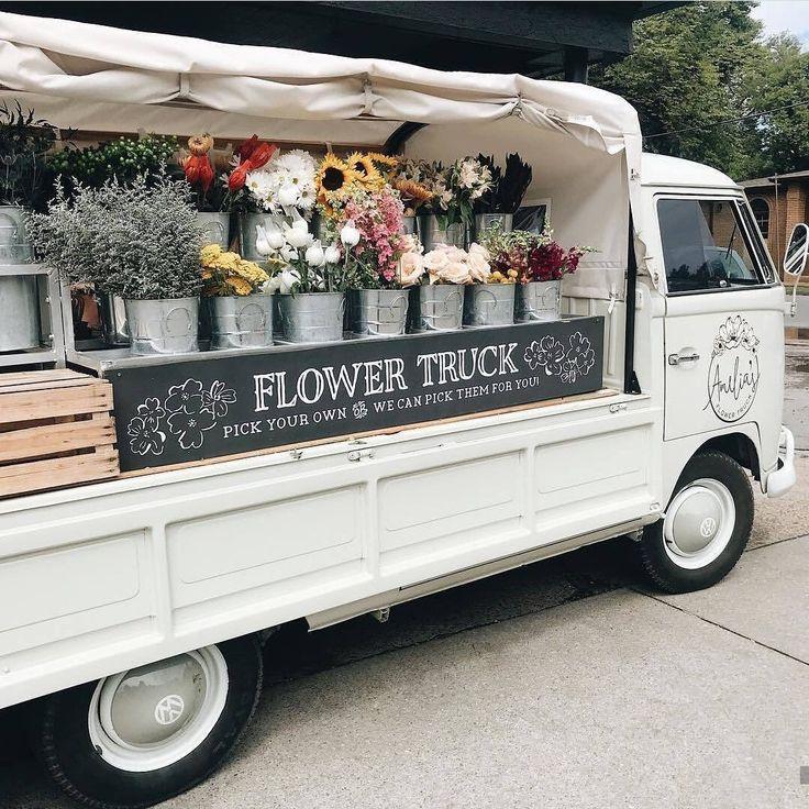 𝑠𝑜𝑚𝑒𝑡𝘩𝑖𝑛𝑔 𝑠𝑝𝑒𝑐𝑖𝑎𝑙 Flower truck, Flower shop, Flowers