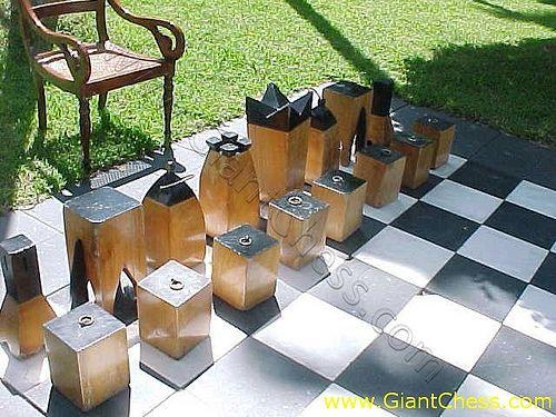 Block Chess by giantchess.com, via Flickr