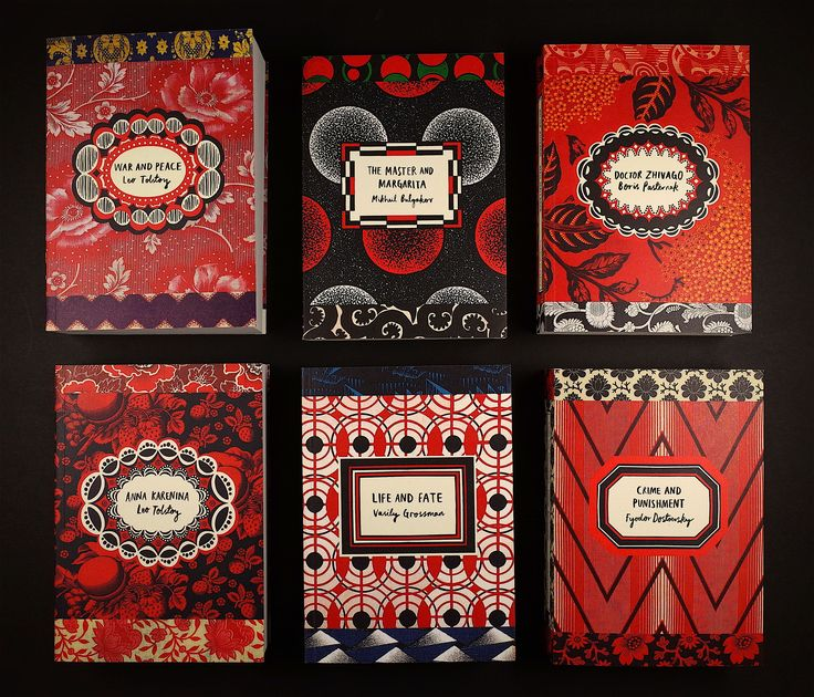 Vintage Releases Beautiful New Editions Of Russian Classics To Mark The Anniversary Of The February Revolution