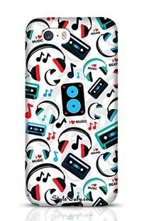 Music Lovers Apple iPhone 5S Phone Case