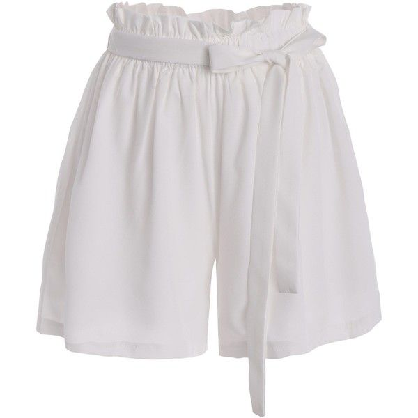 Plus Size Self Tie Culotte Shorts (75 ILS) ❤ liked on Polyvore featuring shorts, plus size shorts, plus size culottes, womens plus size shorts and culottes shorts