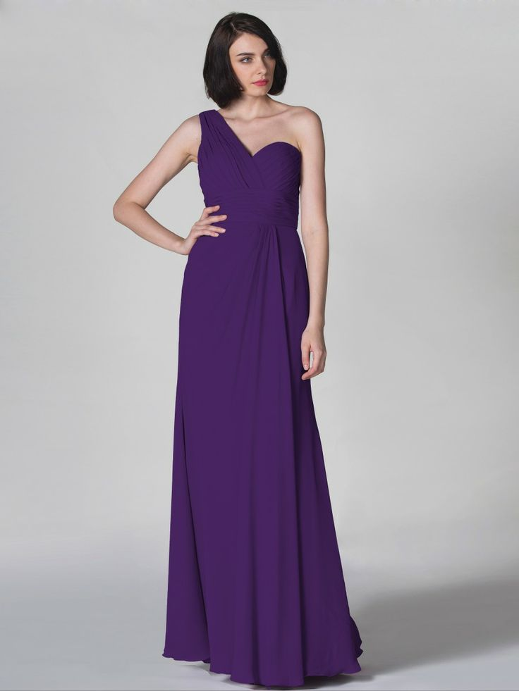 Pin to Win a Wedding Gown or 5 Bridesmaid Dresses! Simply pin your favorite dresses on www.forherandforhim.com to join the contest! | Ruched and Pleated Dress $149.99
