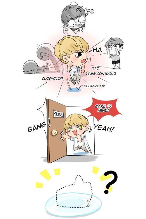 EXO Fanart Comic 9 Cr Owner