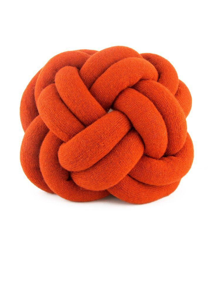 NotKnot Kissen orange