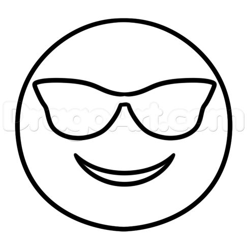 cool emoji faces coloring pages sketch coloring page - Cool Coloring Pages