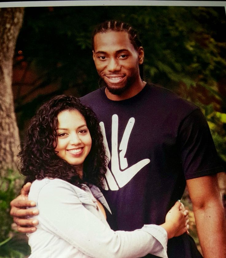Kawhi Leonard And His Beautiful Girlfriend Kishele Shipley