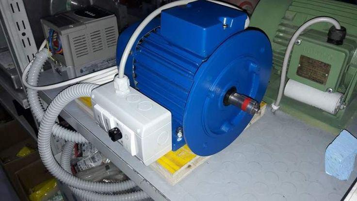 Motore elettrico con inverter