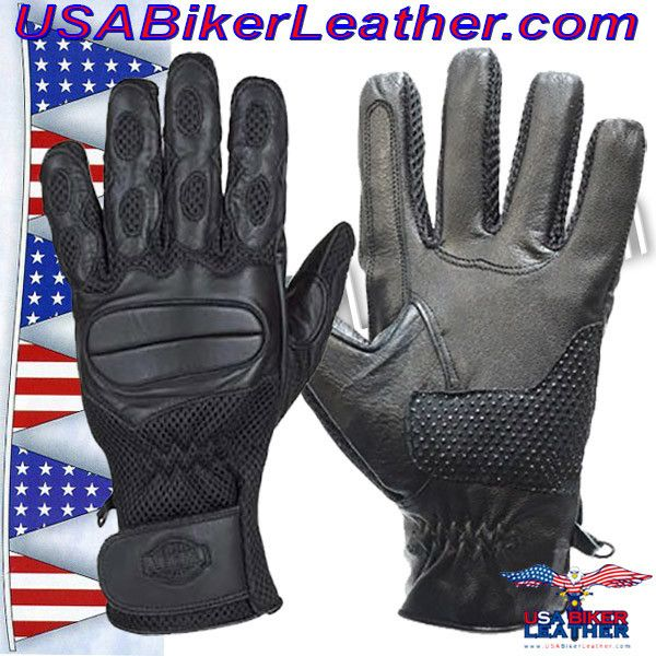 Motorcycle Riding Gloves / Unisex / SKU USA-GL2096-DL