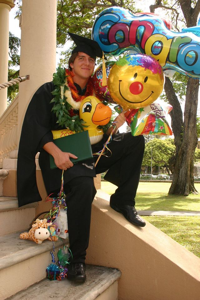 Congratulations, Graduate! Graduation Season = leis in Hawaii.