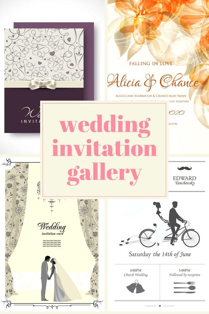 Free Wedding Invitation Cards Samples - Go Making Your Wedding ...