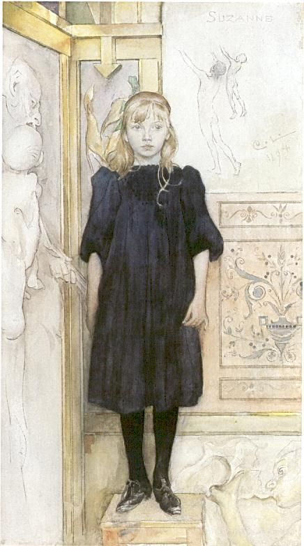 Carl Larsson Suzanne 1894