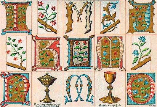 kalligrafie middeleeuwen - Google zoeken