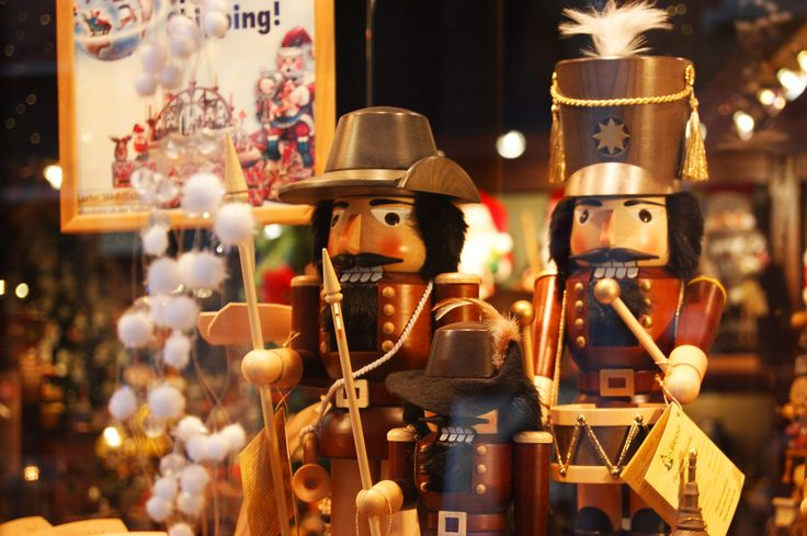 A wooden toy shop in Brugges, Belgium