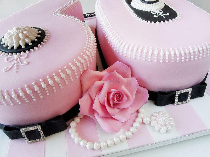 Round Birthday Cakes Ladies Birthday