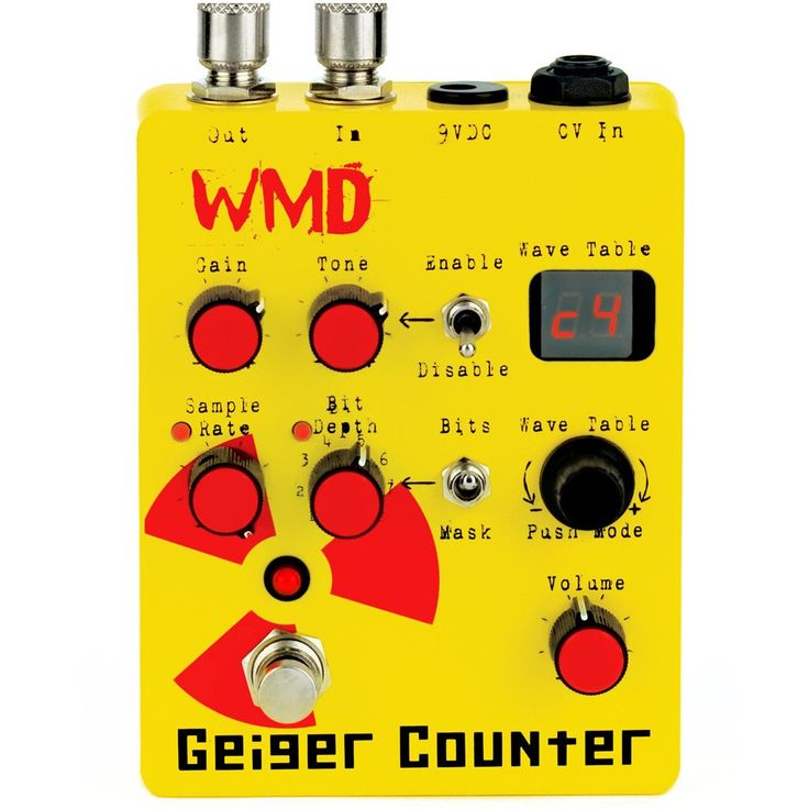 geiger counter effects wish list guitar pedals guitar guitar rig. Black Bedroom Furniture Sets. Home Design Ideas