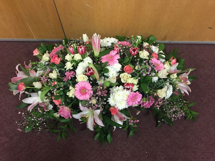 My first attempt at floristry with no training. A privilege to make these for my Auntie's funeral