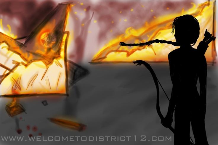 District 8 - Mockingjay: District 12, Mockingjay, Hunger Games