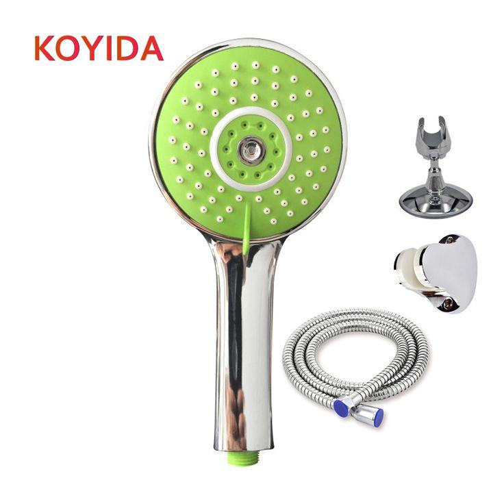 KOYIDA Water Saving Shower Heads Multi functions Round Chrome Hand Hold Bath showerhead Bathroom Accessories ducha chuveiro