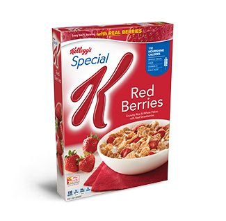 Bursting with red berries, millions have fallen for Special K® Red Berries Cereal. With rice and wheat flakes and crunchy fruity goodness, what's not to love?