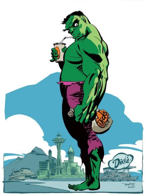 Hulk by Tim Sale