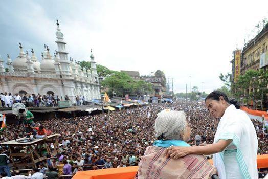 palashscape: Mamata Banerjee July 21 'Ekushe July' –- Ma, Mati,...