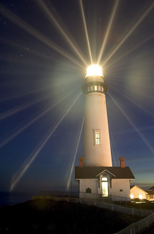 Pigeon Point Lighthouse in San Mateo County, CA. The tallest lighthouse in the USA