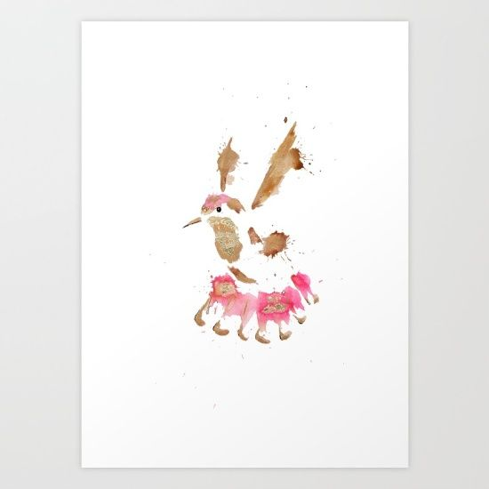Golden Strike Art Print by Art By Chrissy Taylor - $22.00