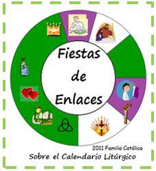 Familia Católica: Calendario de Fiestas de Enlaces para todo el Calendario Litúrgico