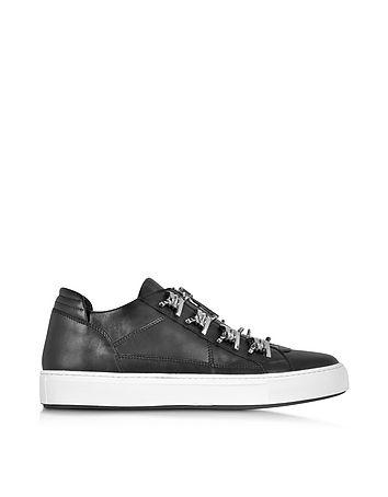 DSquared2 - Asylum Black Leather Men's Sneaker