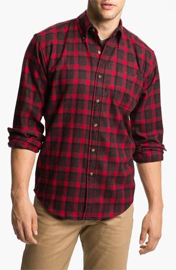 Pendleton 'Fireside' Wool Plaid Flannel Shirt | Nordstrom