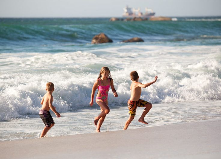 Live the beach life: set above Cape Town's four most famous beaches, Clifton is a unique combination of proximity & family-friendly activities. #Africa #SouthAfrica #CapeTown #summer