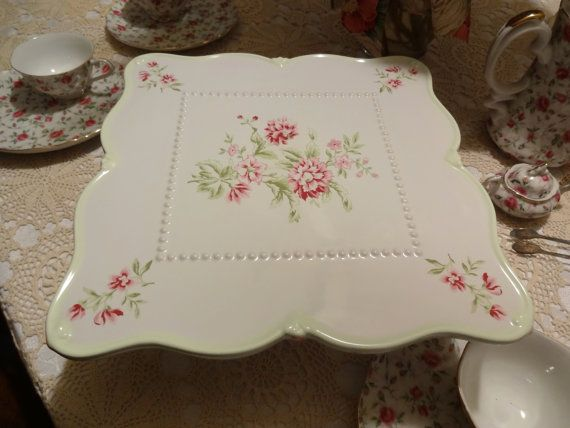 Cake Plate Carole Little Home Collection