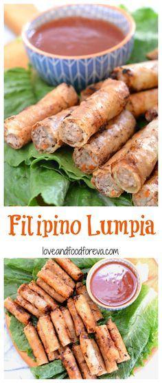 Filipino Lumpia recipe                                                                                                                                                                                 More