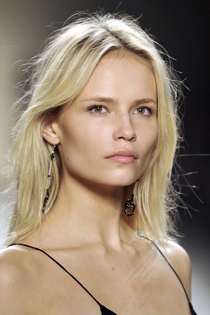 Inspiration for Irina. Natasha Poly at Isabel Marant Spring 2009.