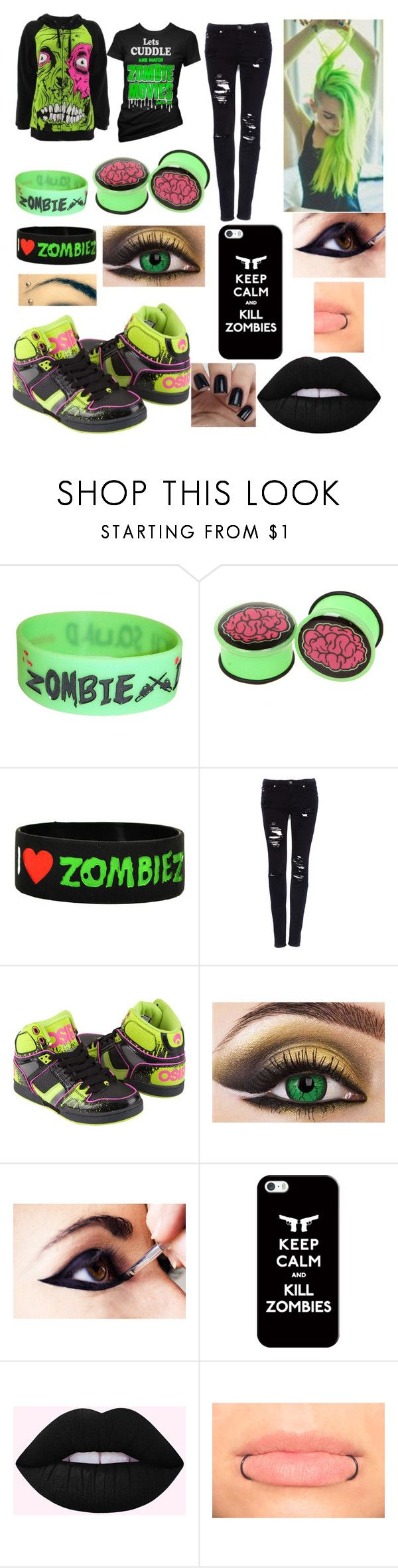 """""""Untitled #630"""" by tiktokterror ❤ liked on Polyvore featuring Iron Fist, Cartel Ink, Hot Topic, Goodie Two Sleeves, Pull&Bear, Osiris and Casetify"""