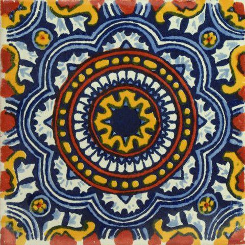13 best ceiling fans images on pinterest rustic ceiling for Decorative spanish tile