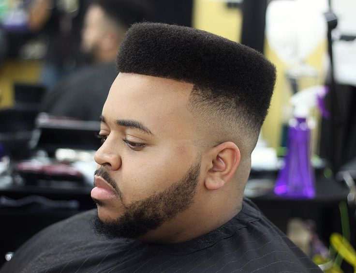 High Top Fade Haircut for curly hair