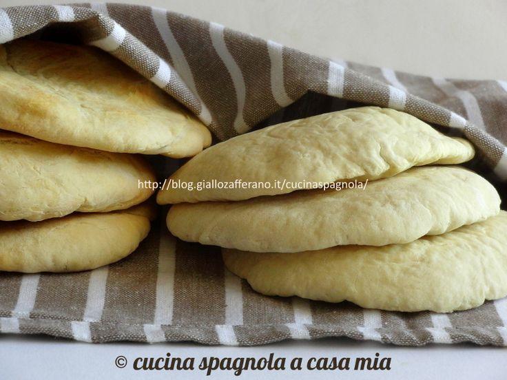 Ricetta originale pita, il pane arabo da farcire - http://back-dein-brot-selber.de/brot-selber-backen-rezepte/ricetta-originale-pita-il-pane-arabo-da-farcire-2/