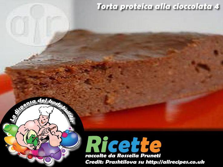 Torta proteica alla cioccolata versione 4