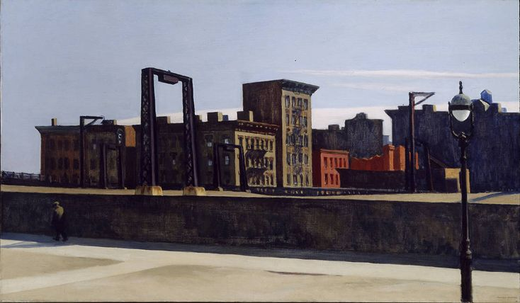 Edward Hopper — Manhattan Bridge Loop, 1928, Edward Hopper