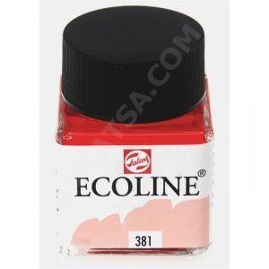 Talens Ecoline Sıvı Suluboya 30 ml. 381 Pastel Red