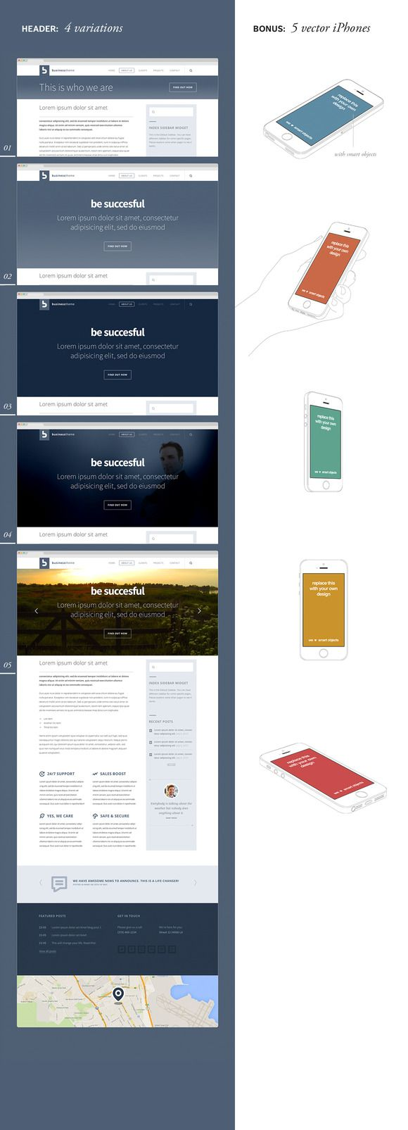 "Rocket App UI Kit This is an impressive collection of mobile app mockups, designed around this fictional ""Rocket App"". It's made up of several different interface screens, including: — News feed — Follow/following screen — Login screen — Home screen — Logo mockups #mockupiphone, #mockupsiphone #mockups #iphone5mockups, #iphone5psd #iphone5psdmockups"