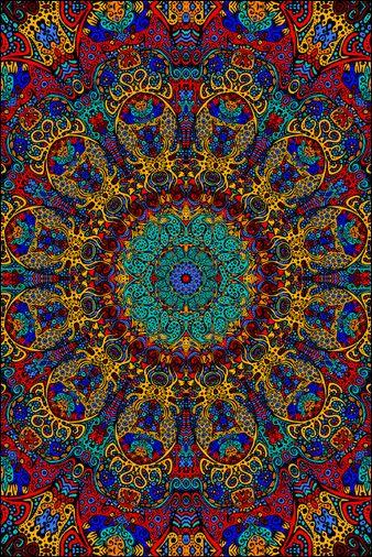 3D - Psychedelic Sunburst - Tapestry www.trippystore.com/3d_psychedelic_sunburst_tapestry.html