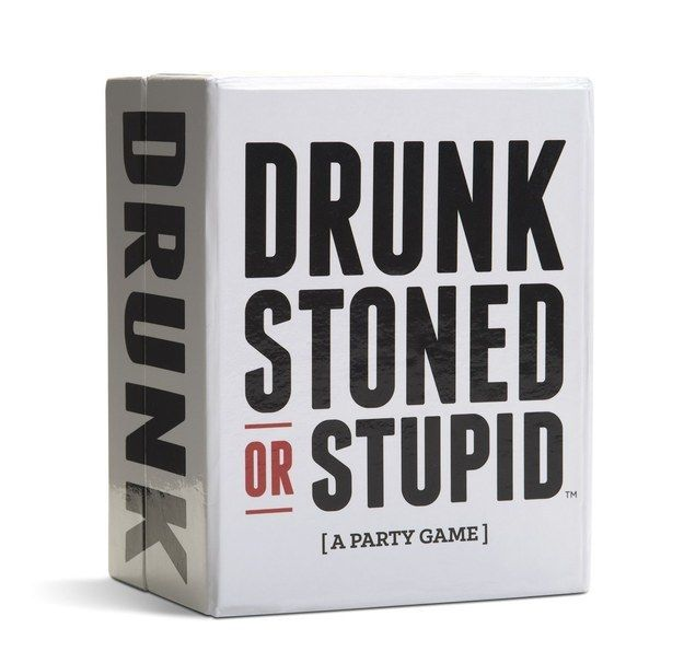 Drunk, Stoned or Stupid is like Cards Against Humanity + Never Have I Ever. | 13 Board Games Adults Will Actually Want To Play