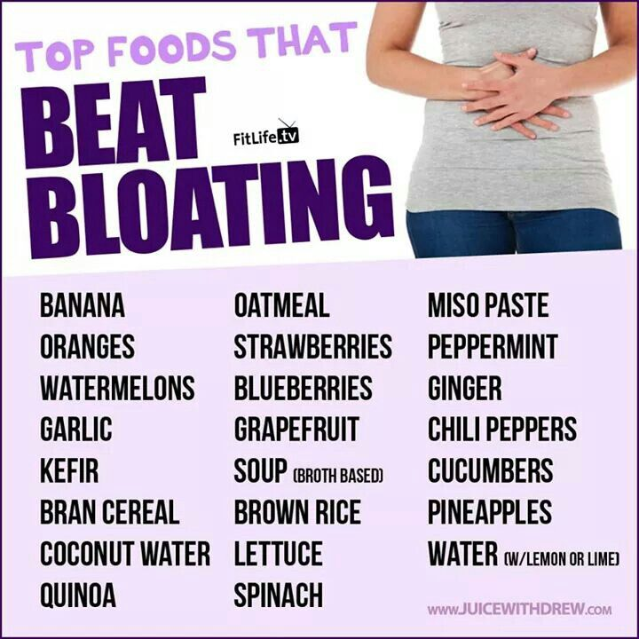 Curing Stomach Bloat Naturally