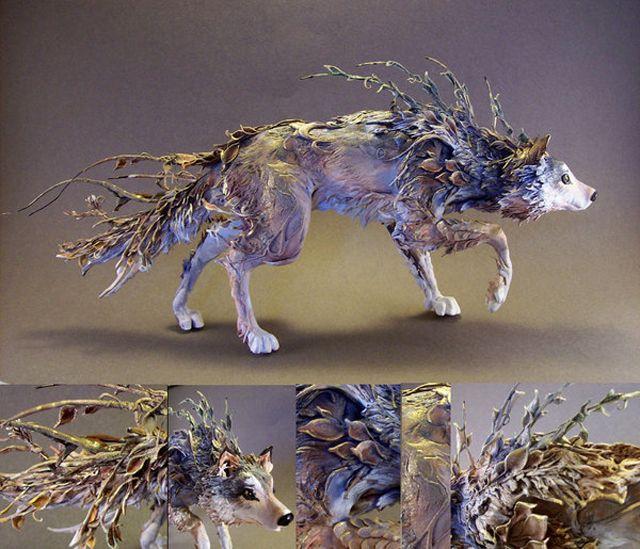 精霊にメタモルフォーゼした獣のフィギュア、このクオリティーは高すぎる | DDN JAPAN