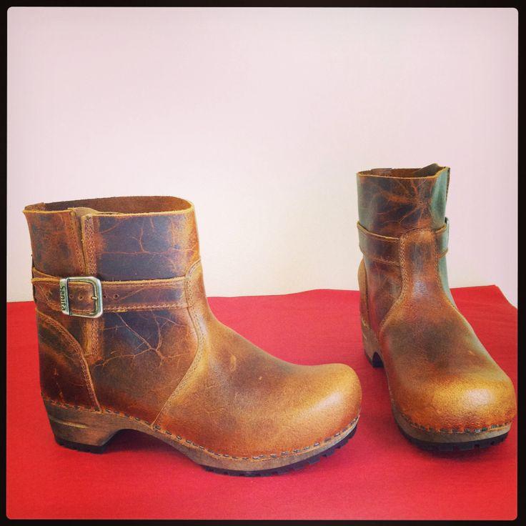Sanita Mina boots in cognac
