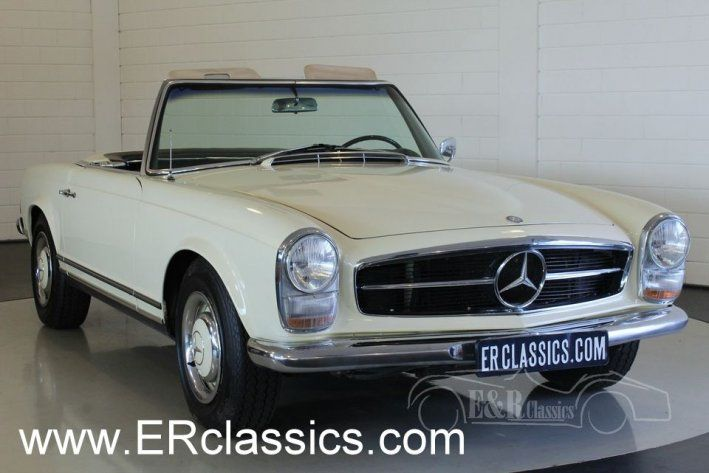 1966 Mercedes-Benz, 230SL  Mercedes-Benz 230 SL Pagode 1966 automatic in very good condition   This is a 1966 Mercedes-Benz 230 SL Pagode. Both the in- and outside are in a good and well maintained condition with some traces of use. The car has creme white paint and a black leather interior. The car drives great thanks to the original 2306CC, 170 HP engine and automatic gearbox. The car has a soft ..  http://www.collectioncar.com/detailed.php?ad=64431&category_id=1